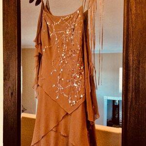 BCBG maxazria silk dress size 4